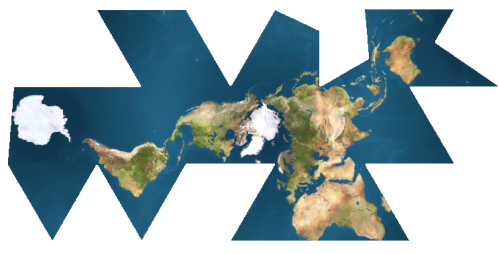 Dymaxion_map_unfolded